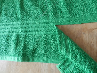 Make Your Own Towel Wrap